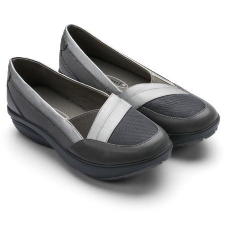 Мокасины женские Walkmaxx Comfort 2.0. Цвет: серый