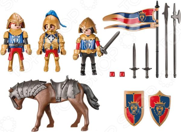 Игровой набор Playmobil «Рыцари: Королевские рыцари Львы»