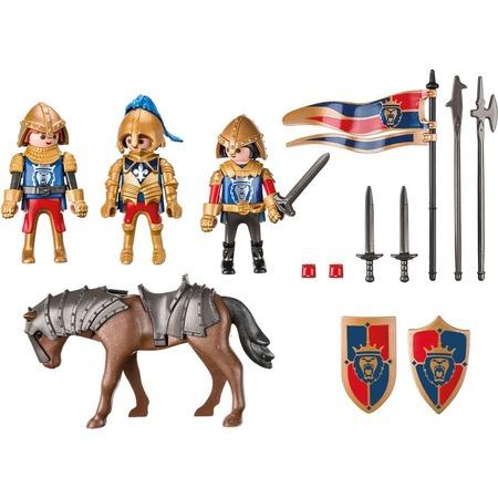Купить Игровой набор Playmobil «Рыцари: Королевские рыцари Львы»