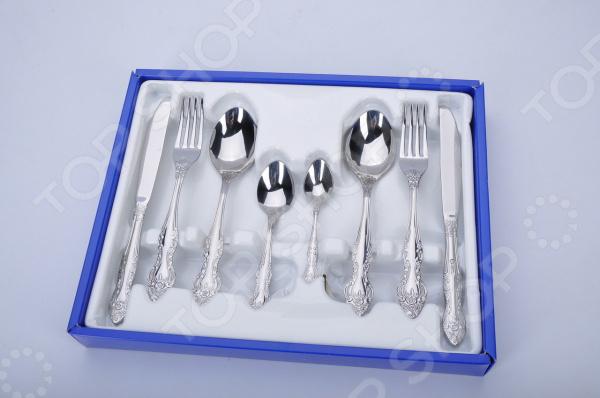 Набор столовых приборов Павлово М3. Количество предметов: 30 шт набор столовых ножей victorinox swissclassic 6 предметов синий