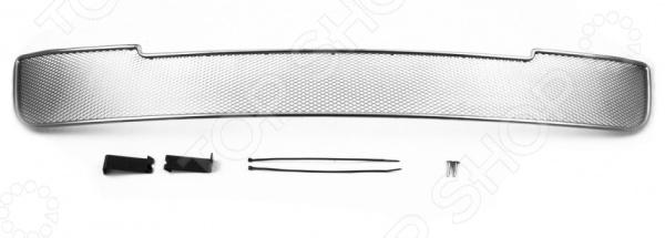 цена на Сетка на бампер внешняя Arbori для Mitsubishi Pajero IV, 2008-2011
