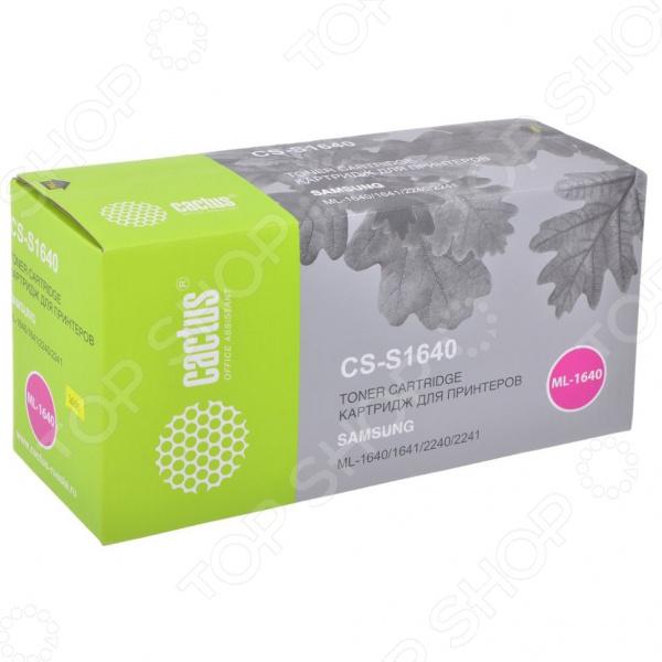 Картридж CACTUS CS-S1640 картридж cactus cs s1640 d108s черный