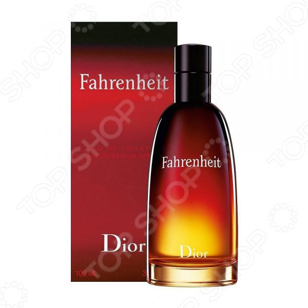 Туалетная вода для мужчин Christian Dior Fahrenheit, 100 мл туалетная вода для женщин christian dior dolce vita