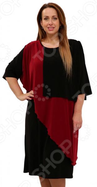 Платье Pretty Woman «Танго двух сердец». Цвет: бордовый