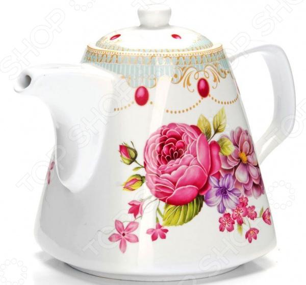 Чайник заварочный Loraine «Цветы» 26548