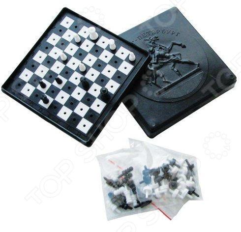 Набор для игры в шашки  шахматы ПЛЭЙДОРАДО 40005
