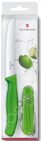 Набор: нож перочинный и нож для овощей Victorinox Color Twins 1.8901