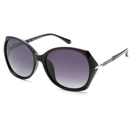 Купить Солнцезащитные очки Laura Amatti «Мистика». Цвет: черный