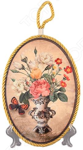 Подставка под горячее Elan Gallery «Букет с бабочкой»