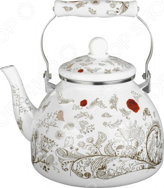 Чайник эмалированный Чудесница ЭЧ-4008 чайник чудесница эч 2004 brown