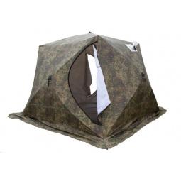 Палатка СТЭК «Куб 4» трехслойная. Рисунок: камуфляж