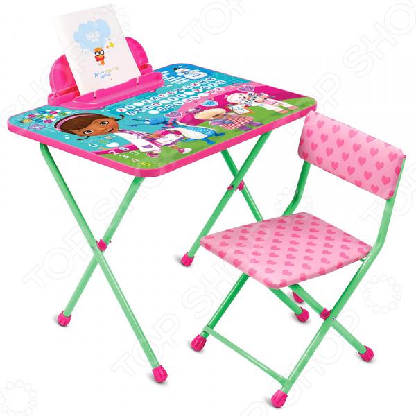 Набор мебели детский: стол и стул Ника Disney «Доктор Плюшева»
