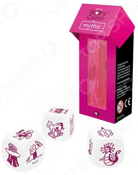 Игра настольная обучающая Rory's Story Cubes «Кубики историй. Мифы» настольная игра лаборатория игр rory s story cubes кубики историй путешествия 9 кубиков