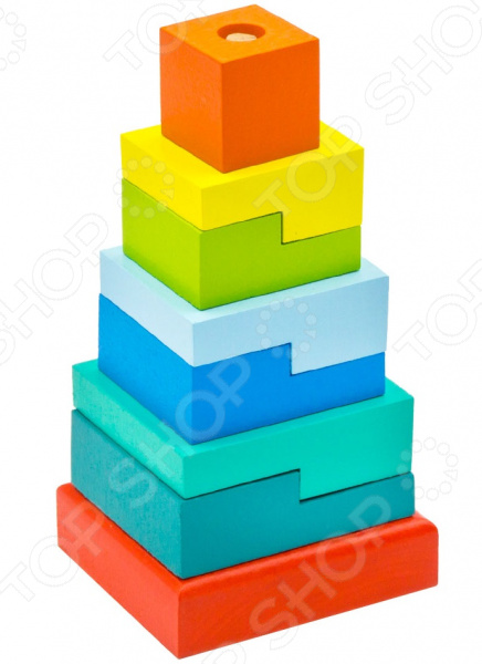 Zakazat.ru: Игрушка-пирамидка Alatoys «Ступеньки»