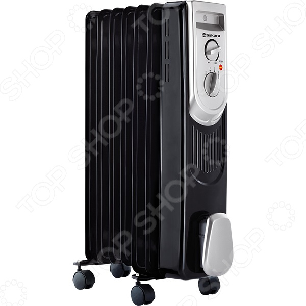 Радиатор масляный Sakura SA-0337B Радиатор масляный Sakura SA-0337B /Черный