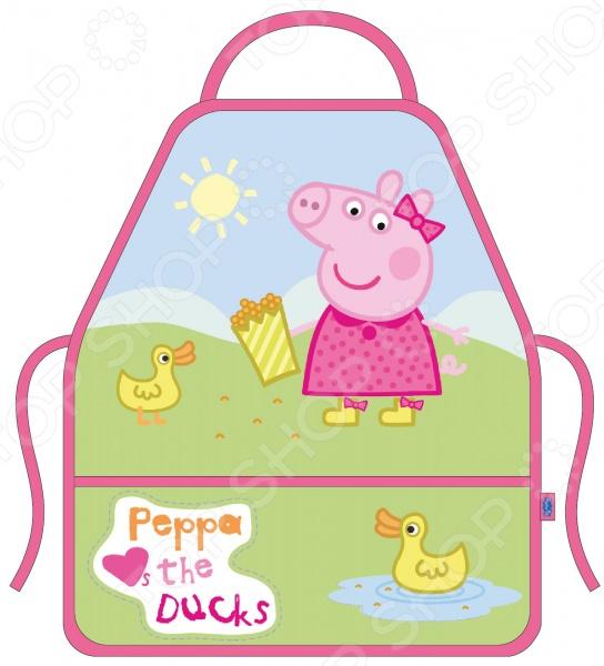 Фартук с нарукавниками Peppa Pig «Свинка Пеппа и утка»
