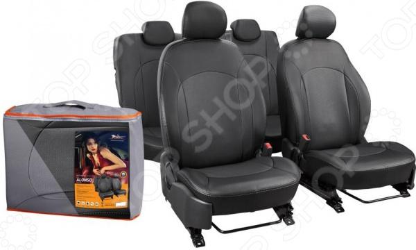 Набор чехлов для сидений Airline Hyundai Solaris / KIA Rio, 2011, Alonso kia sorenyo 3 ряд сидений отдельно