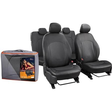 Купить Набор чехлов для сидений Airline Hyundai Solaris / KIA Rio, 2011, Alonso