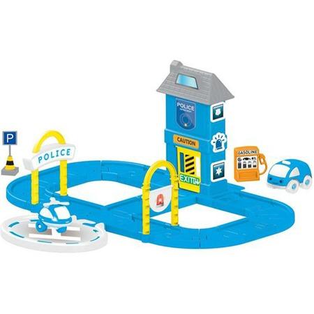 Купить Набор игровой для мальчика Dolu «Полицейская станция с круговой дорогой»