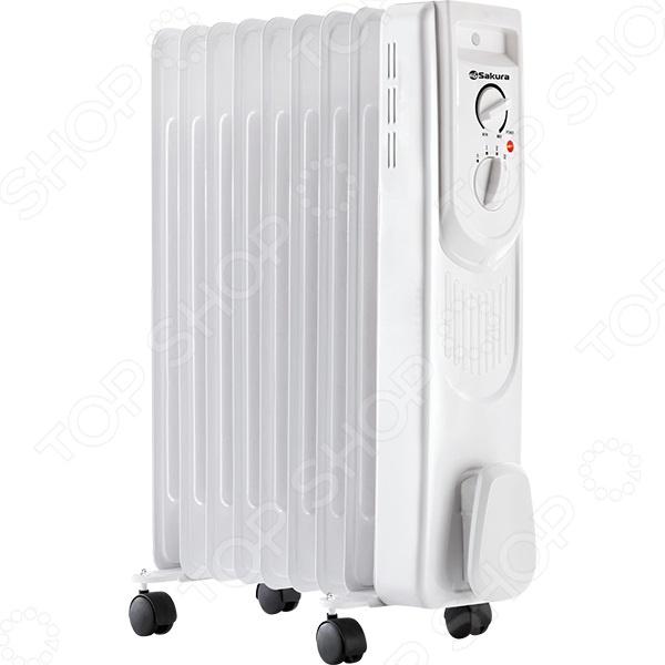 Радиатор масляный Sakura SA-0339B Радиатор масляный Sakura SA-0339W /Белый