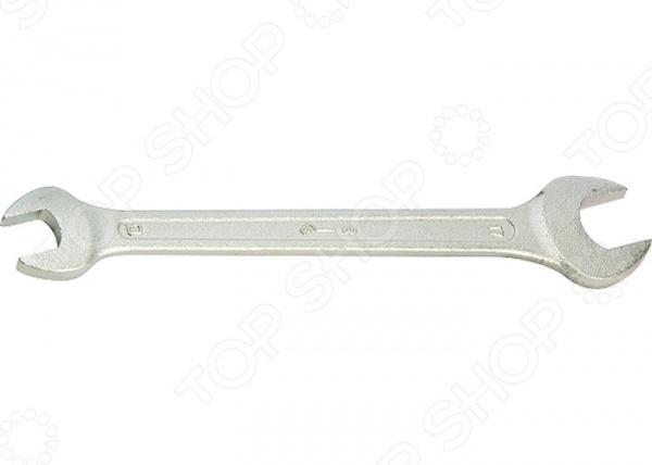 Ключ рожковый оцинкованный КЗСМИ ключ комбинированный оцинкованный