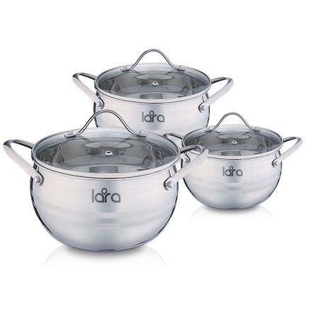 Купить Набор посуды LARA Apple LR02-86