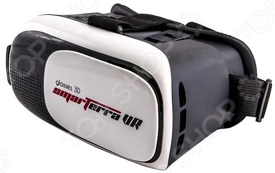 Очки 3D Smarterra VR с BT-контроллером для смартфонов vr 3d очки виртуальной реальности red line vr box