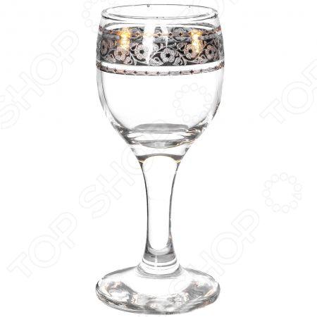 Набор рюмок для водки Гусь Хрустальный «Флорис» набор бокалов гусь хрустальный флорис 190 мл 6 шт