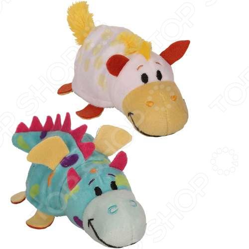 Мягкая игрушка 1 Toy «Вывернушка Ням-Ням 2в1: Единорог-Дракончик». Размер: 12 см
