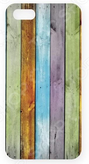Чехол для IPhone 5 Mitya Veselkov «Цветные доски»