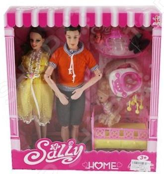 Набор кукол с аксессуарами Наша Игрушка «Семья»