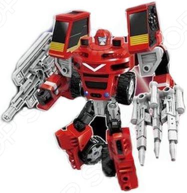 Робот-трансформер Machine boy «Погрузчик с пушкой»