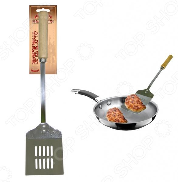 Лопатка кулинарная Мультидом «Ретро» AN57-70 консервный нож мультидом an54 52 an57 4