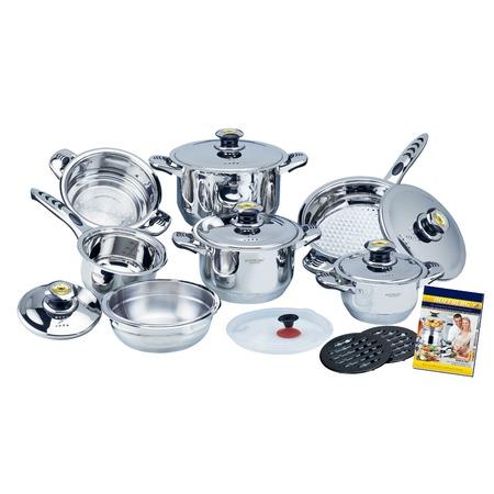 Купить Набор посуды «Идеальная хозяйка». Количество предметов: 17