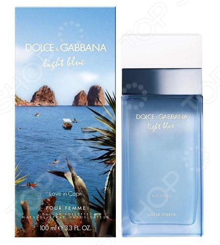 Туалетная вода для женщин Dolce&Gabbana Light Blue Love In Capri