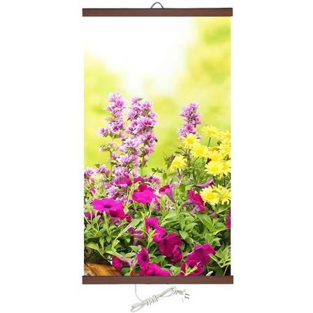 Купить Обогреватель настенный Домашний очаг «Цветы»