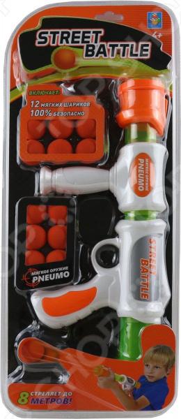 Оружие игрушечное 1 Toy Street Battle Т13648 игрушечное оружие maskbro maskbro mp002xc006ut