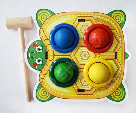Игрушка-стучалка WoodLand «Черепаха»