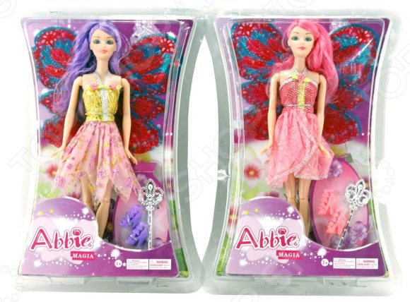 Кукла с аксессуарами Наша Игрушка Abbie Magia «Фея». В ассортименте abbie fashion party dressup doll