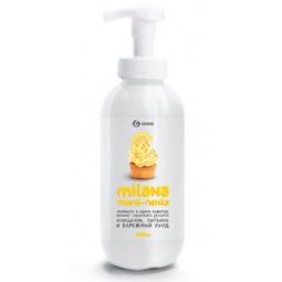 Пенка мыльная для рук с дозатором GraSS Milana «Лимонный пирог»