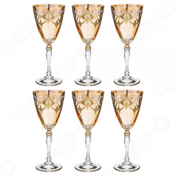 Набор бокалов для вина ART DECOR «Амальфи» набор бокалов для бренди коралл 40600 q8105 400 анжела