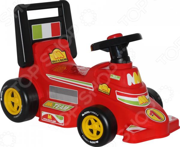 Машина-каталка Molto «Гоночный трек»