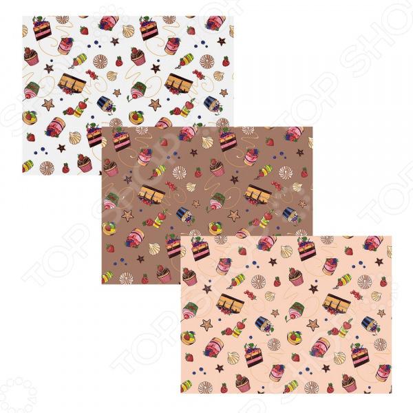 Полотенце-салфетка Мультидом «Десерт» MT71-141. В ассортименте полотенце 42 72см 48 62см мультидом цвет в ассортименте