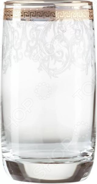 Набор высоких стаканов Гусь Хрустальный «Эдем. Каскад»