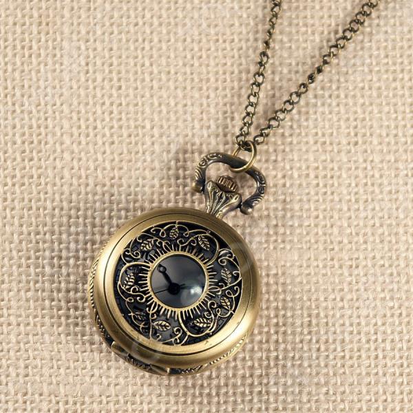 Кулон-часы Mitya Veselkov «Вьюнок средний»