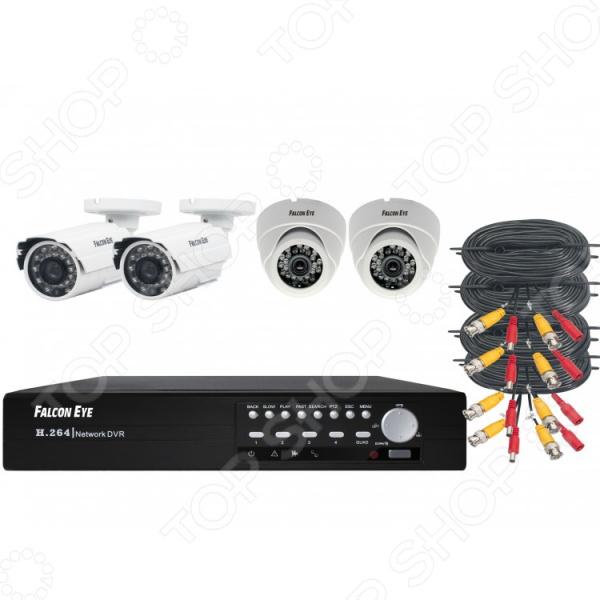 Комплект видеонаблюдения FALCON EYE FE-104MHD KIT «Офис» аксессуары для систем видеонаблюдения