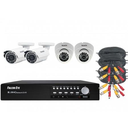 Комплект видеонаблюдения FALCON EYE FE-104MHD KIT «Офис»