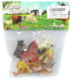 Набор фигурок домашних животных Shantou Gepai Farm animal 2C251 бордюр ceramica classic tile illyria beige 5x30