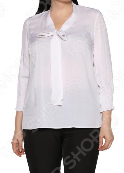 Блуза Blagof «Нежные очертания». Цвет: молочный блуза blagof блуза мерси цвет персиковый