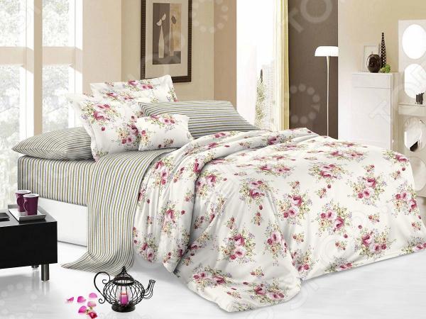 Zakazat.ru: Комплект постельного белья Cleo 021-PC. 1,5-спальный